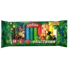 "ПЛАСТИЛИН ""CREATIVIKI"" (""ФАРМ"") 12 ЦВ. 120ГР."