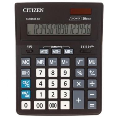 Калькулятор настольный Citizen BusinessLine CDB1601-BK 16-разрядный