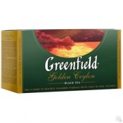 "ЧАЙ Greenfield ""Golden Ceylon"" ЧЁРНЫЙ 25 ПАК."