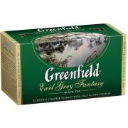"""ЧАЙ GREENFIELD """"Earl Grey Fantasy"""" ЧЁРНЫЙ АРОМАТИЗИРОВАННЫЙ 25 ПАК."""