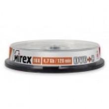"ДИСК DVD+R ""MIREX"" 16Х CAKEBOX 10ШТ."