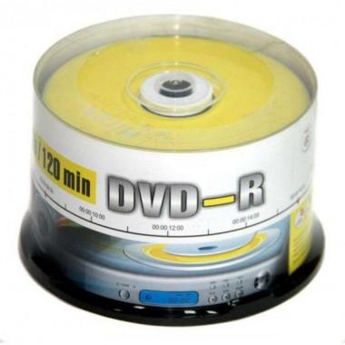 "ДИСК DVD-R ""MIREX"" 16Х CAKEBOX 50ШТ."