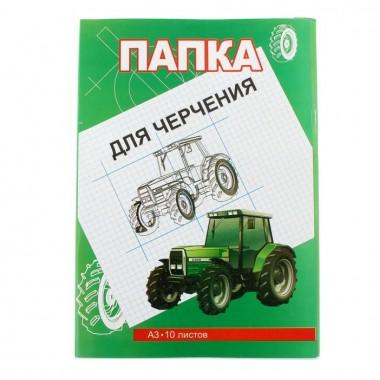 БУМАГА ДЛЯ ЧЕРЧЕНИЯ А3, 10Л.200Г.