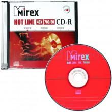 "ДИСК CD-R ""MIREX ""HOTLINE"" 48Х SLIM"