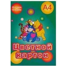 """КАРТОН ЦВЕТНОЙ А4 10 Л. 10ЦВ НЕ МЕЛОВ. (""""ЛИХТ"""")"""