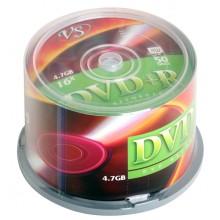 "ДИСК DVD+R ""VS"" 16Х CAKEBOX 50ШТ."