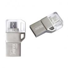 """ФЛЭШ-НАКОПИТЕЛЬ """"MIREX""""BINAR"""" (OTG) 16 ГБ USB-MICROUSB"""