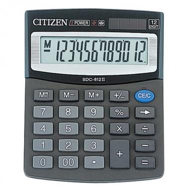 "КАЛЬК-Р НАСТ. 12 РАЗР. ""CITIZEN"" SDC-812"