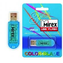 """ФЛЭШ-НАКОПИТЕЛЬ """"MIREX ELF BLUE"""" 8 ГБ USB 3.0"""